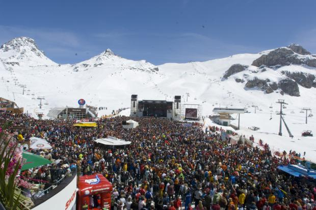 Ischgl Top of the mountain